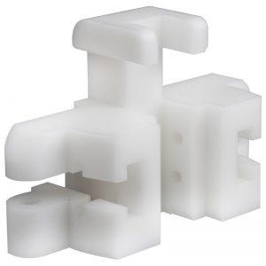 plastic 5-axis machining